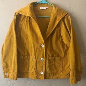 Size MEDIUM BIG BUD PRESS Fisherman Coat MUSTARD